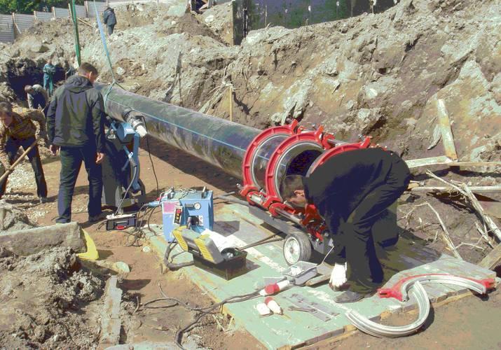 Монтаж полиэтиленовых труб для водопровода своими руками